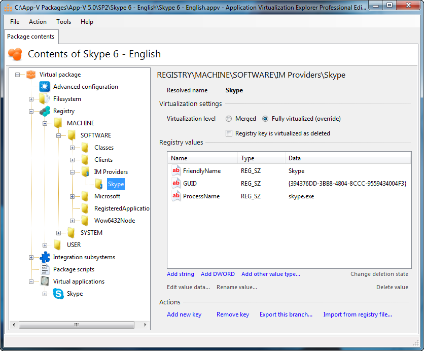 Gridmetric Application Virtualization Explorer